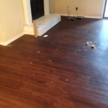 living room wood floor