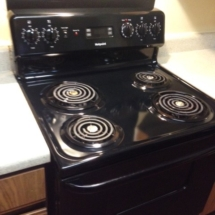 clean stove and oven